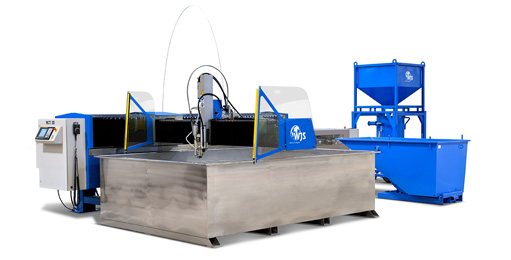 Used Waterjet Cutting Machine